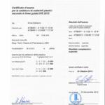 Certificato DVS
