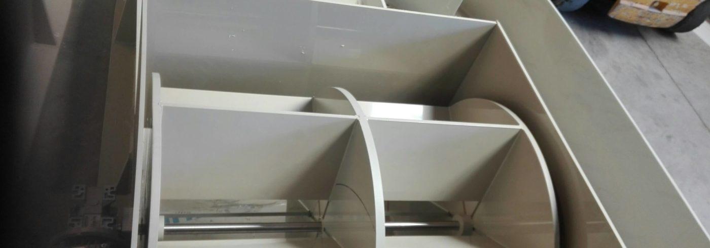 dettaglio vasca acquacoltura