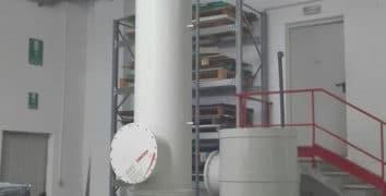 Scrubber, creato in friuli per il mercato brasiliano