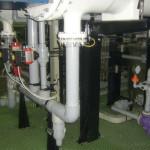 impianto idraulico elettrocloratore