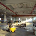 Interni del nuovo capannone Easytech a Cividale