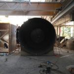 costruzione serbatoio pvc