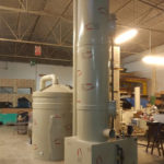 costruzione e montaggio scrubber