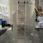 vasca per impianto di acquacoltura